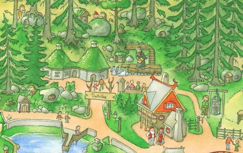 Trollriket karta